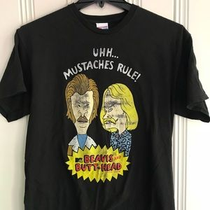 NWT Urban Outfitters Beifus and Butthead Tee